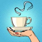 Retro Kaffee PopArt