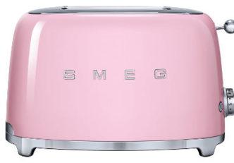 Pinker Retro Toaster von Smeg