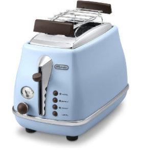 DeLonghi Vintage Toaster in Himmelblau