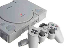 Sony Playstation 1 mit Controller