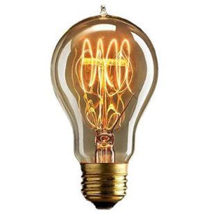 Edison Glühbirne für die Wohnung