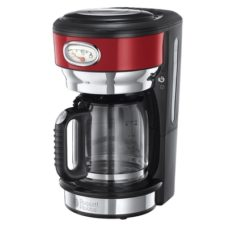 Russell Hobbs Retro Red Ribbon Retro Kaffeemaschine