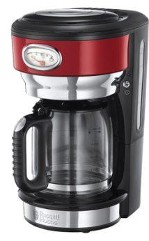 Russell Hobbs Retro Red Ribbon Retro Kaffeemaschine