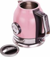 Retro Wasserkocher in Pink