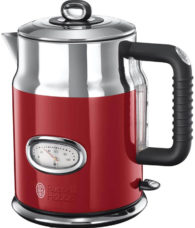 Roter Retro Wasserkocher von Russell Hobbs