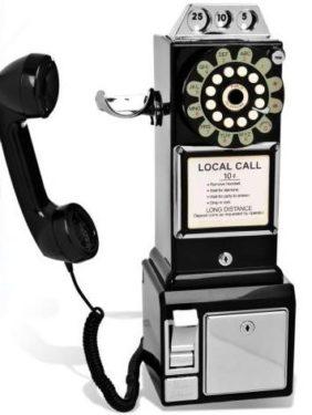Retro Münztelefon - American Diner 1950